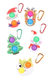 Riah Fashion Christmas-Dimple-Fidget-Sensory-And-Stress-Reliever-Cute-Assorted-Toy - Product Mini Image