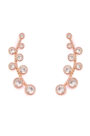 Riah Fashion Circle Crawler Earrings - Product Mini Image