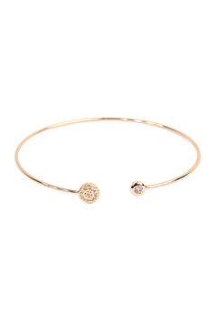 Riah Fashion Circle Cuff Bracelet - Product List Image