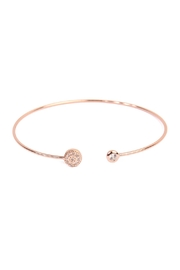 Riah Fashion Circle Cuff Bracelet - Product Mini Image