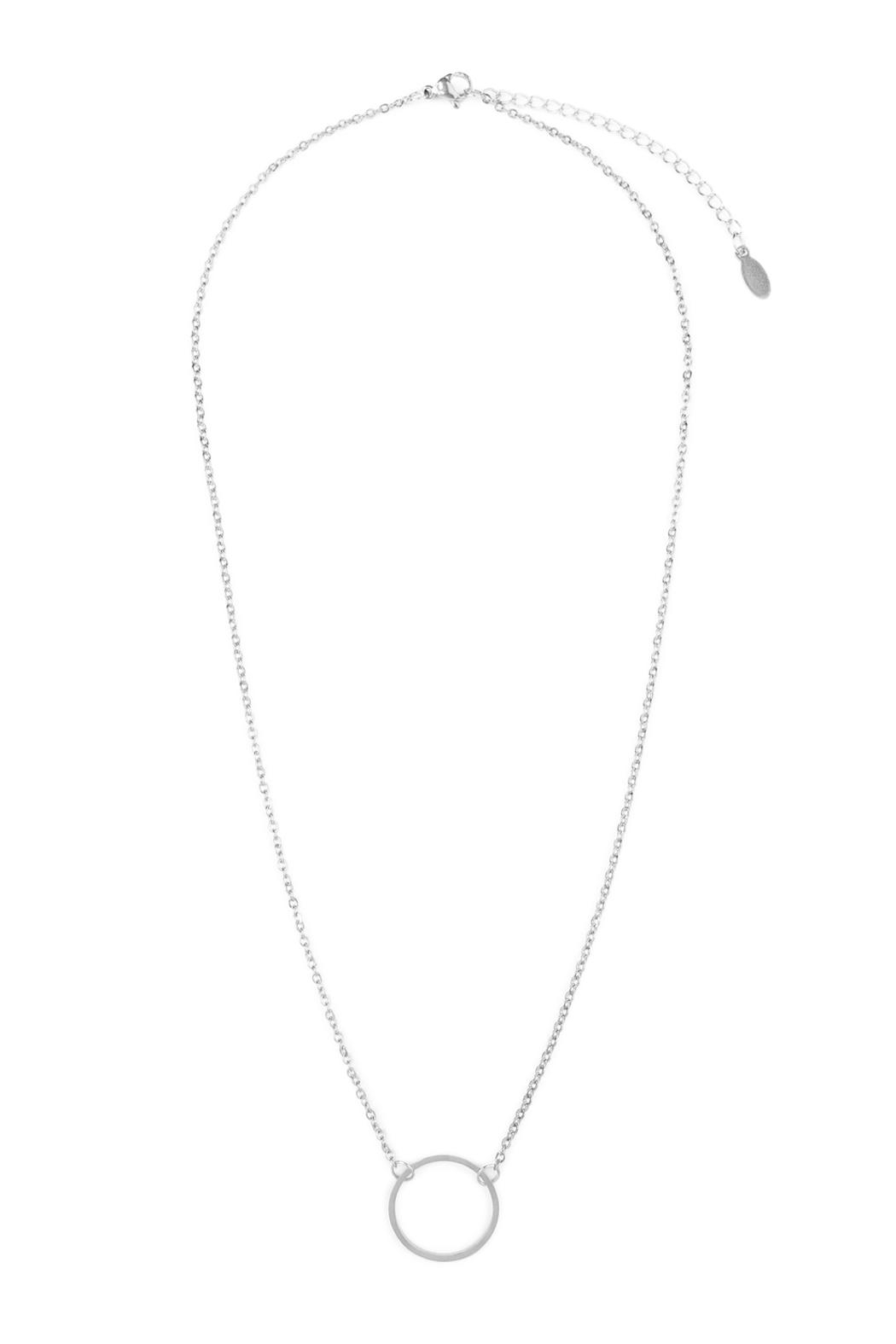 Riah fashion circle pendant necklace from california shoptiques riah fashion circle pendant necklace front cropped image aloadofball Choice Image