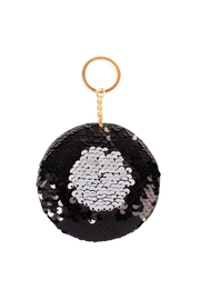 Riah Fashion Circle Reversible-Sequin Keychain - Product Mini Image
