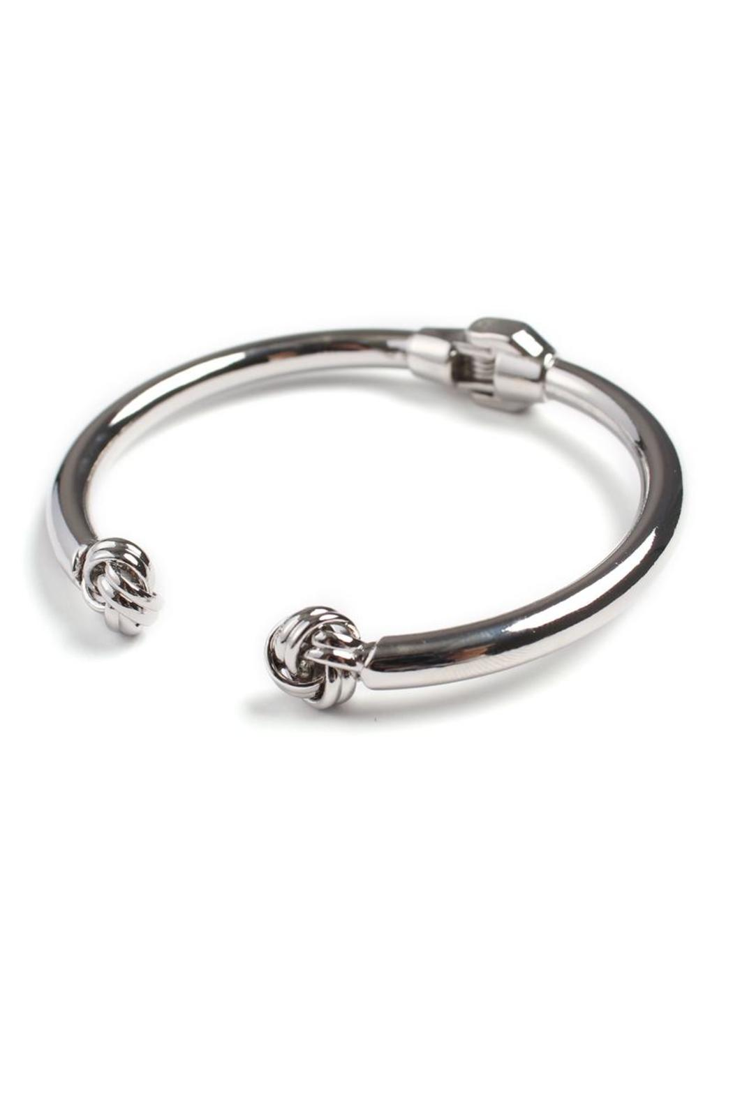 Riah Fashion Circle Wrapped Cuff - Front Cropped Image