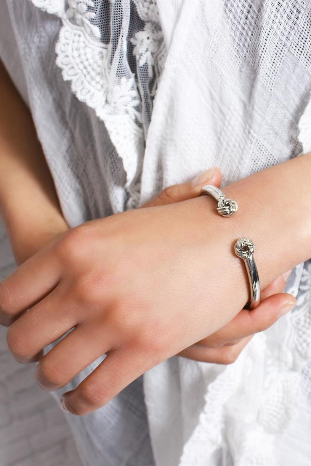 Riah Fashion Circle Wrapped Cuff - Front Full Image