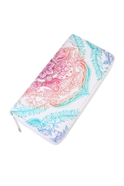 Riah Fashion Colorful Mandala Wallet - Product Mini Image