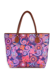 Riah Fashion Colorful Paisley Tote - Product Mini Image