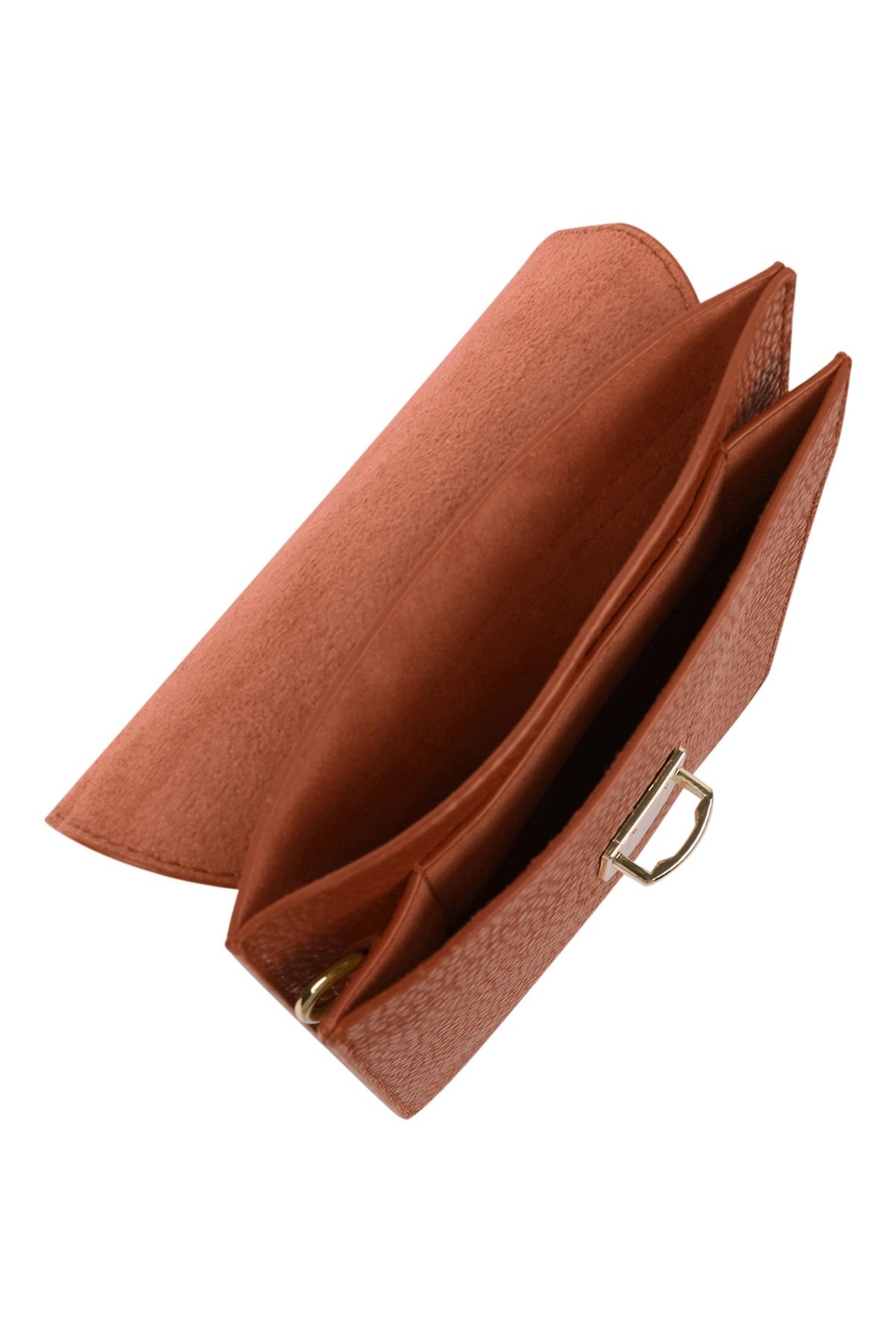 Riah Fashion Cross-Body-Leather-Bag - Front Full Image