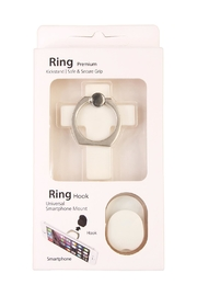 Riah Fashion Cross Phone Ring-Holder - Front cropped