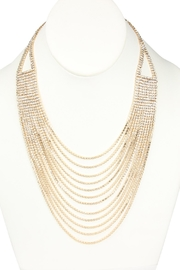 Riah Fashion Cubic-Zirconia Layered Necklace - Product Mini Image