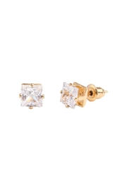 Riah Fashion Cubic Zirconia Stud-Earrings - Product Mini Image