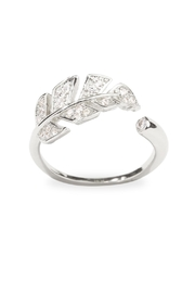 Riah Fashion Leaf Wrap Ring - Product Mini Image