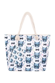 Riah Fashion Cute-Animal-Digital-Printend-Tote-Bag-W/-Matching-Wallet - Product Mini Image