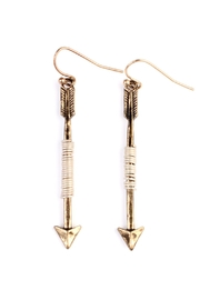Riah Fashion Cute Arrow Wired-Earrings - Product Mini Image