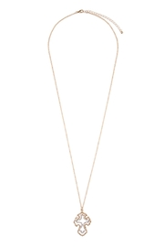 Riah Fashion Cute Cross Necklace - Product Mini Image