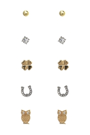 Riah Fashion Cute Earring Pairs - Product Mini Image