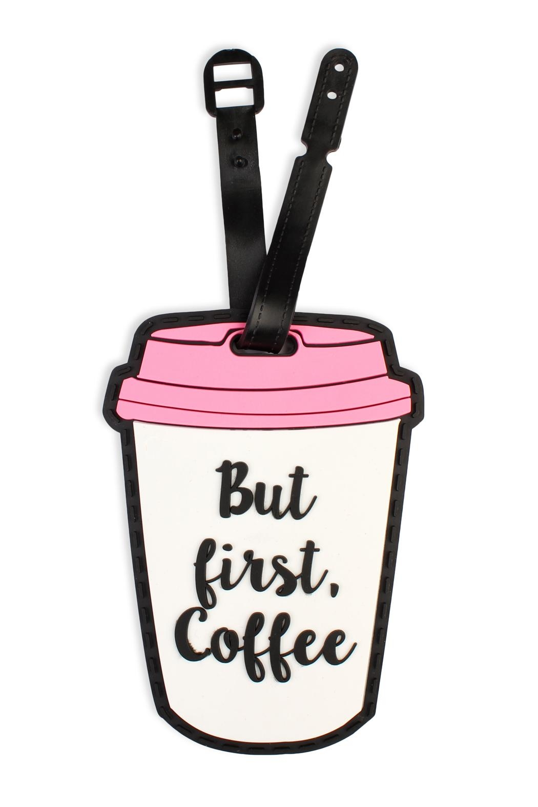 Riah Fashion Cute Luggage Tags - Front Cropped Image