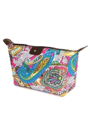 Riah Fashion Cute-Paisley Print Cosmetic-Bag - Product Mini Image