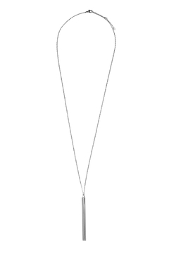 Riah Fashion Cylindrical Bar Necklace - Alternate List Image