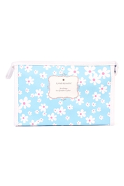 Riah Fashion Daisy Floral Cosmetic Bag - Product Mini Image