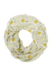 Riah Fashion Daisy Floral Infinity Scarf - Product Mini Image