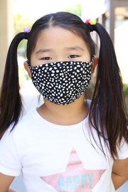 Riah Fashion Dalmatian Reusable Face Mask For Kids With Filter Pocket - Product Mini Image