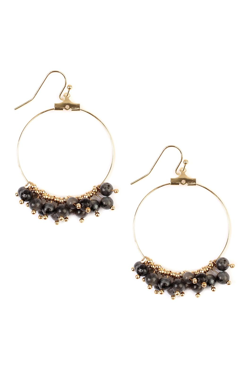 products dangling riah natural earrings earring fashion stone