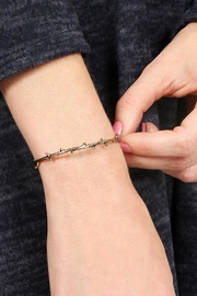 Riah Fashion Delicate Tree Vine Bracelet - Front full body
