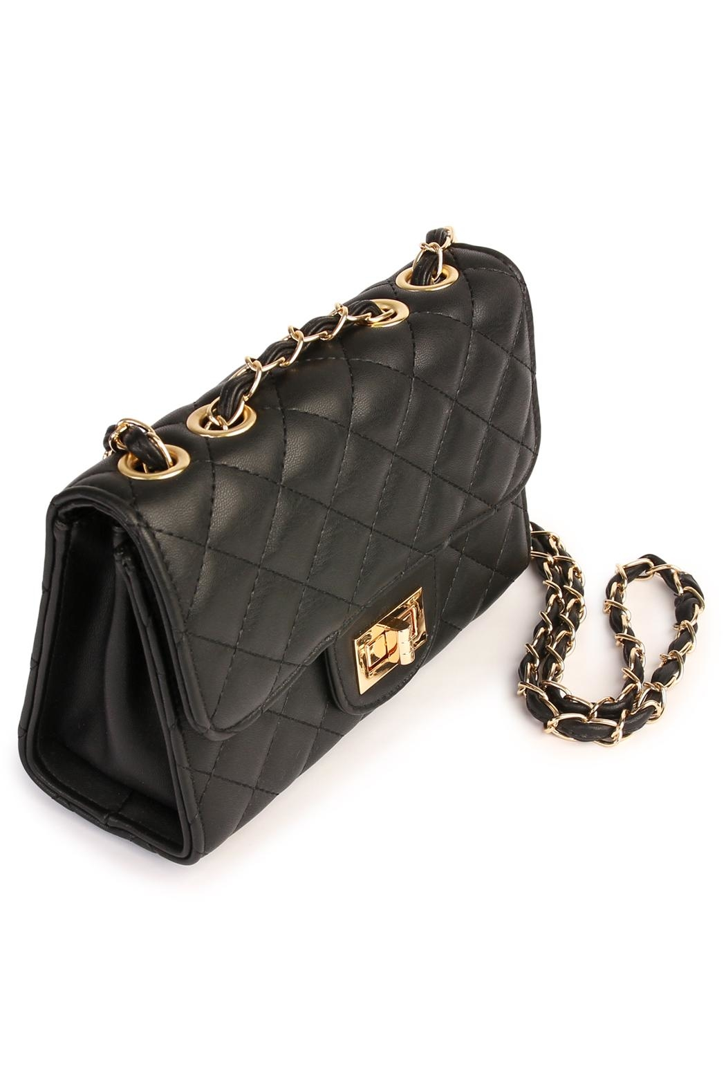Riah Fashion Designer Inspired Handbag - Side Cropped Image