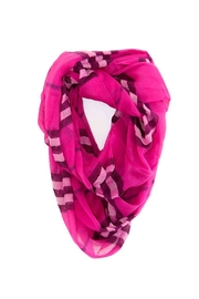 Riah Fashion Aileen Infinity Scarf - Front cropped