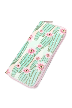 Shoptiques Product: Cute-Digital Printed Single-Zipper-Wallet