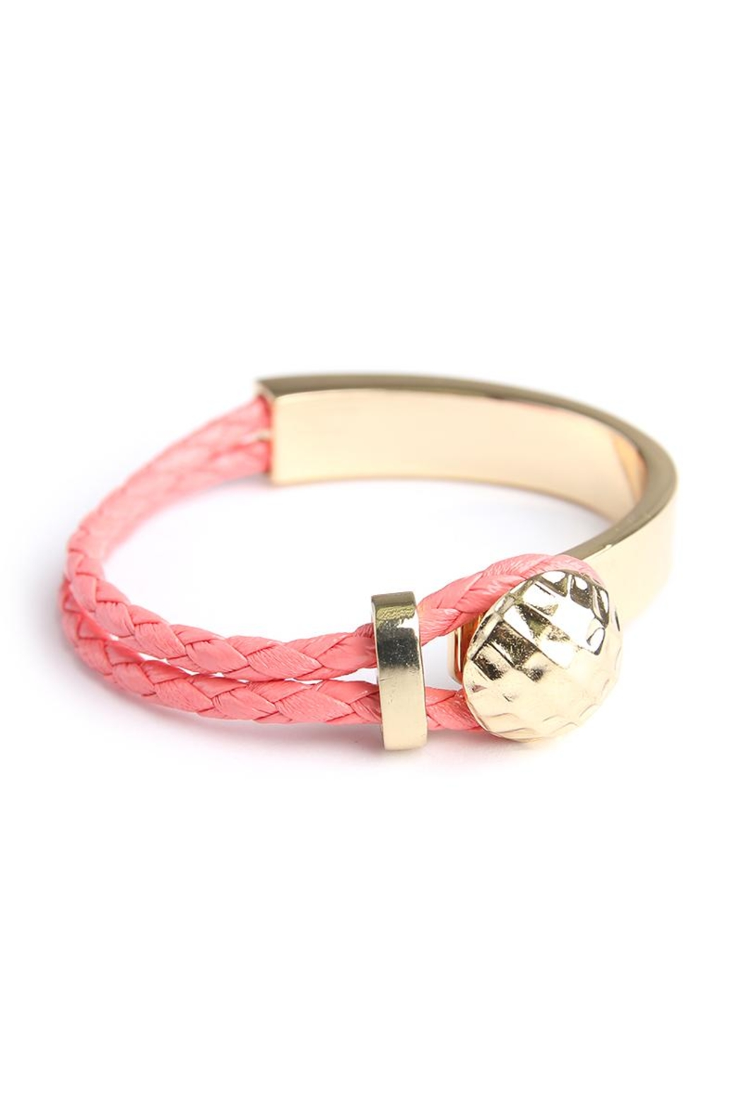 Riah Fashion Double Braided Bracelet - Main Image