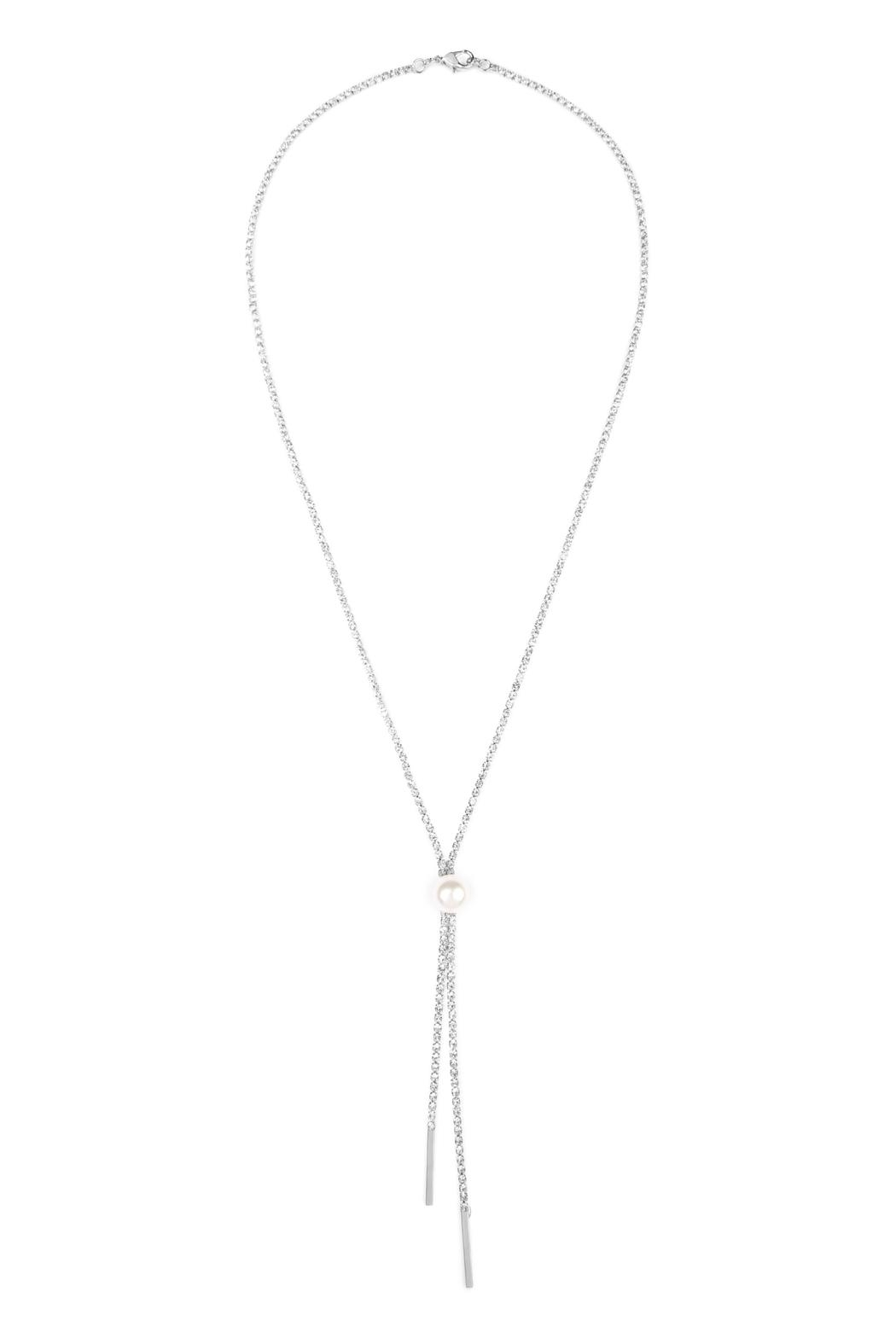 Riah Fashion Double Chain Necklace - Main Image