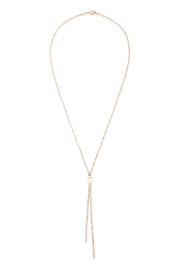 Riah Fashion Double Chain Necklace - Product Mini Image