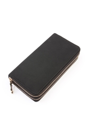 Riah Fashion Double Zipper Wallet - Product Mini Image