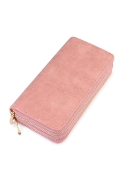 Riah Fashion Stylish Light Pink Wallet - Product Mini Image