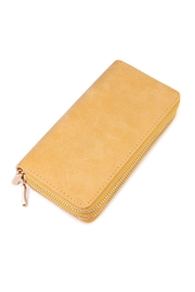 Riah Fashion Stylish Yellow Wallet - Product Mini Image
