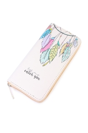 Riah Fashion Dream Catcher Print Wallet - Product Mini Image