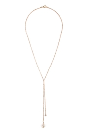 Riah Fashion Dual Chain Necklace - Product Mini Image