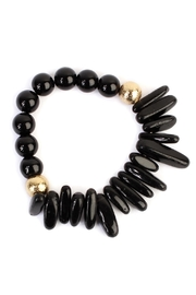 Riah Fashion Dual-Side Natural-Stone Bracelet - Product Mini Image