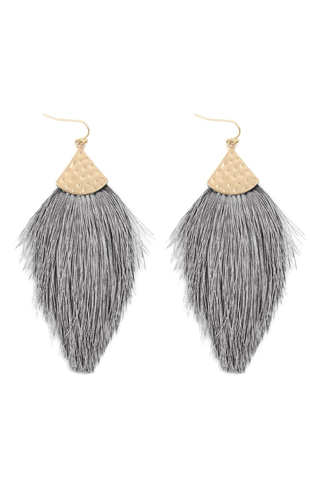 Riah Fashion Earrings - Front Cropped Image