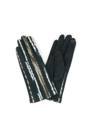 Riah Fashion Embroidered-Line-Gloves-Smart-Touch - Product Mini Image