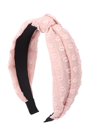 Riah Fashion Fabric-Wrap-Knot-Headband-Hair-Accessories - Front cropped