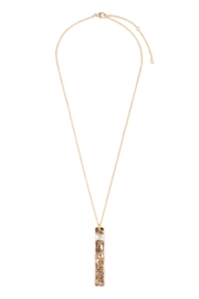 Riah Fashion Faith Bar Necklace - Product Mini Image
