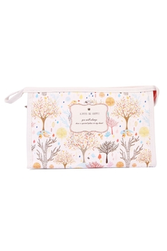 Shoptiques Product: Fall Tree Cosmetic Bag