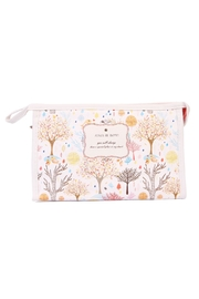 Riah Fashion Fall Tree Cosmetic Bag - Product Mini Image