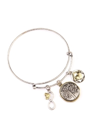 Riah Fashion Family Root Charmed Bracelet - Product Mini Image