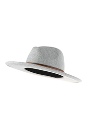 Riah Fashion Fashion Hat With Leather Belt Accent - Side cropped
