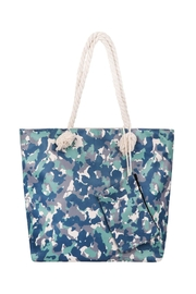 Riah Fashion Fashionable-Camouflage-Digital-Printed-Tote-Bag-W/ Matching-Wallet - Front cropped