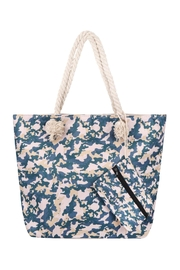 Riah Fashion Fashionable Camouflage-Digital-Printed-Tote-Bag-W/-Matching-Wallet - Front cropped