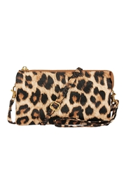 Riah Fashion Faux Crossbody Wristlet Bag - Product Mini Image